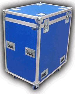 Fabrica de flight cases contenedores de aluminio baules - Baules con ruedas ...
